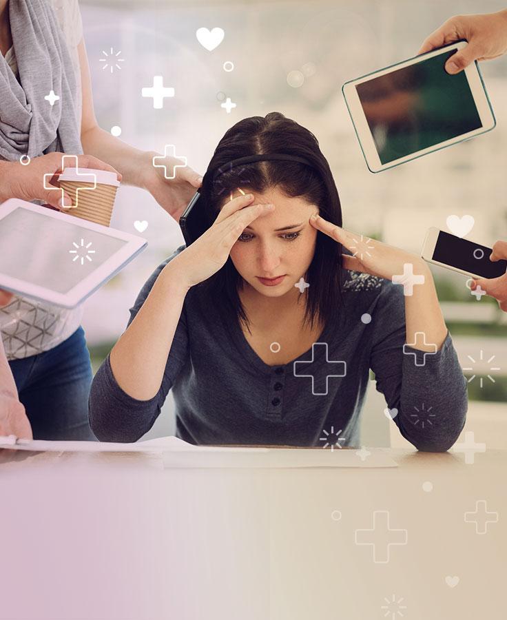 estrés es la respuesta física y emocional a un daño causado por un desequilibrio
