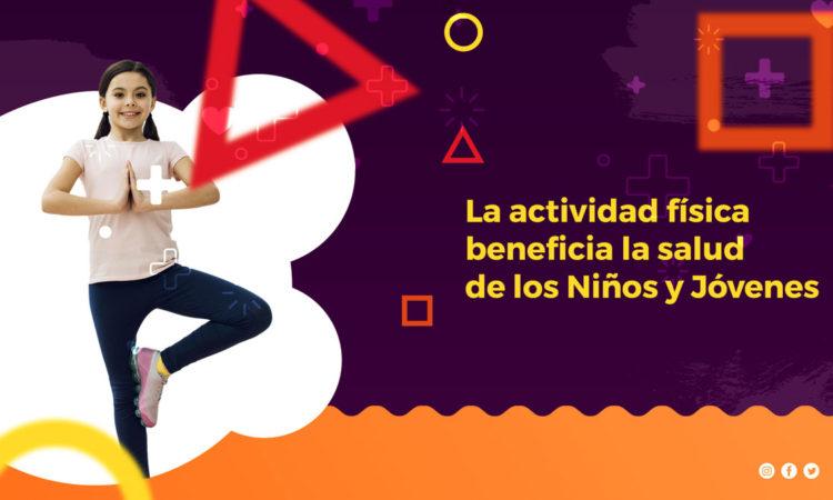 niños y jóvenes necesitan mas actividad física