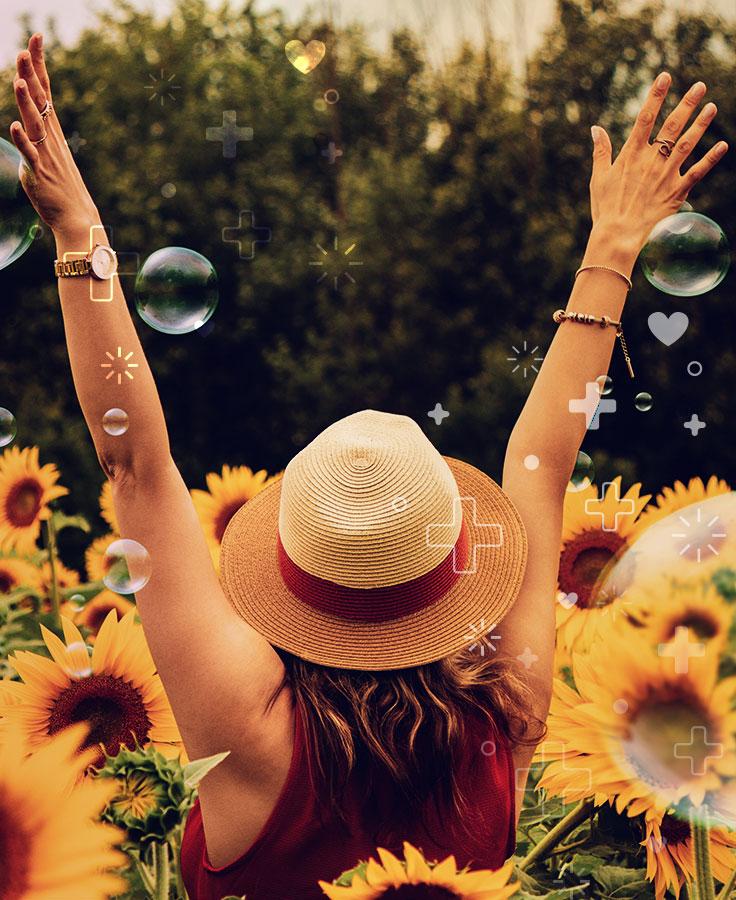 Acercarse a la naturaleza, caminos de felicidad