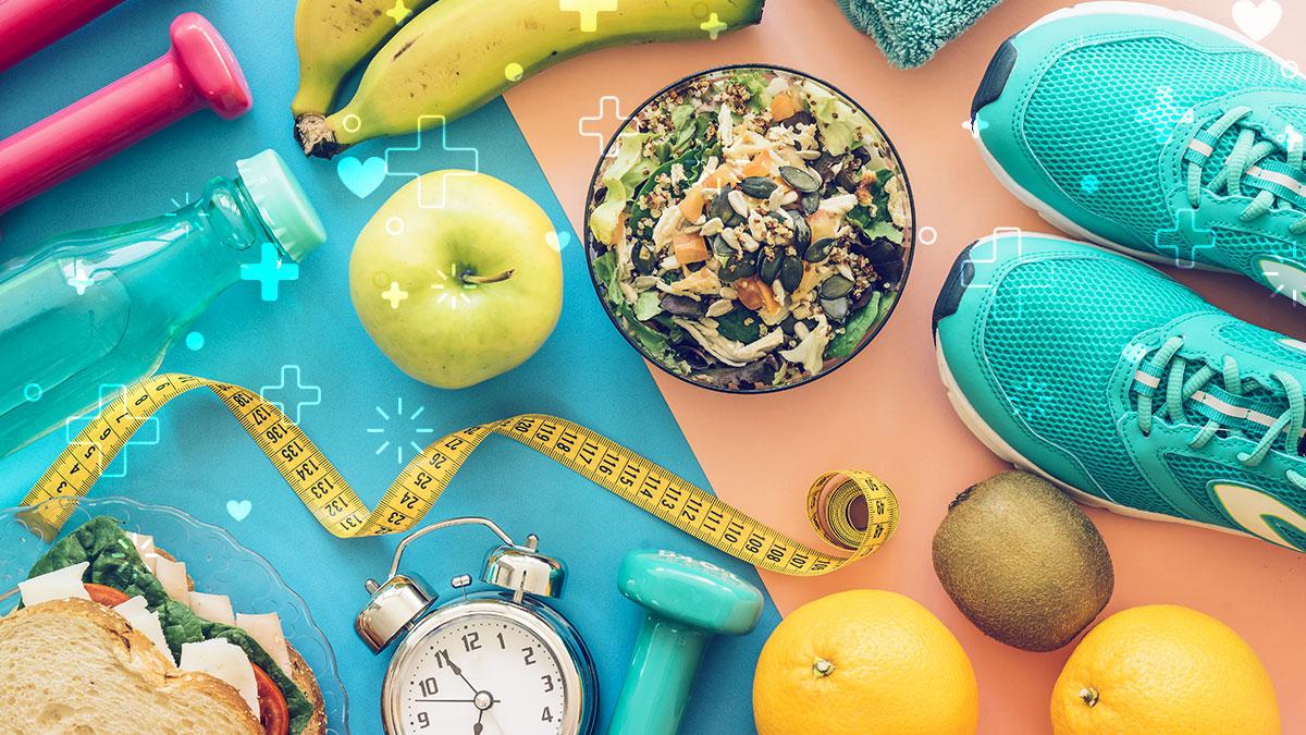 Cinco hábitos para llevar una vida saludable