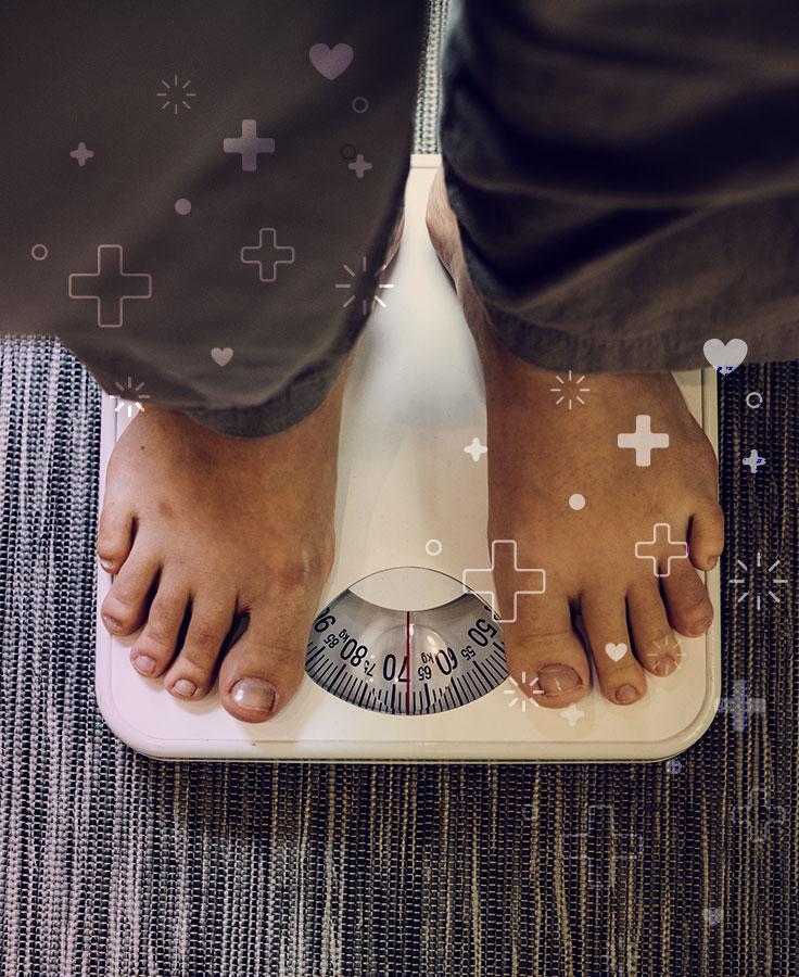 mantener un índice de masa corporal saludable