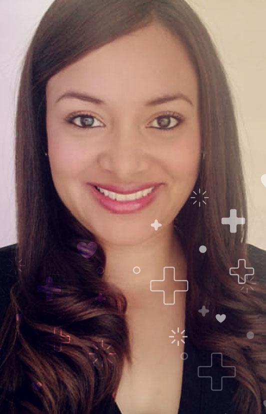 Enfermera Katerine Zabaleta Rocha