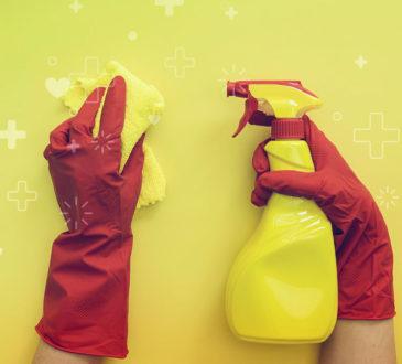 Desinfectando su hogar para prevenir contagios de covid-19