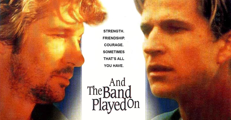and the band played on, philadelphia, VIH - SIDA película