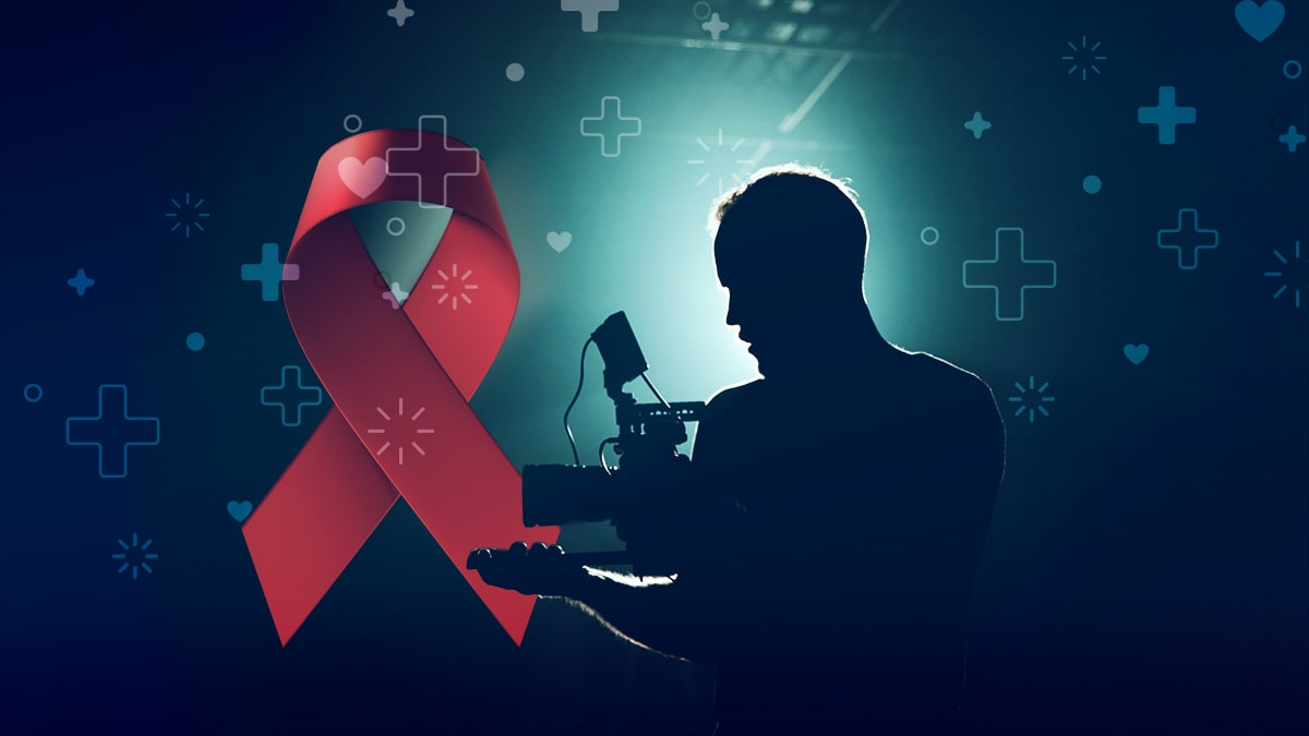 El VIH Sida un tema tratado en la televisión y en el cine