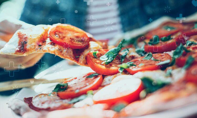 pizza es un alimento saludable