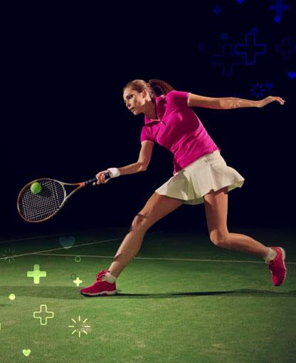 tenis para la salud