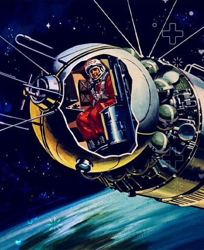Yuri Gagarin, el hombre de las estrellas